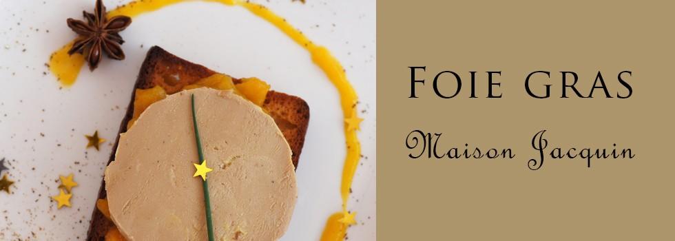 Découvrez le Foie gras de canard entier de notre producteur Emmanuel Jacquin.