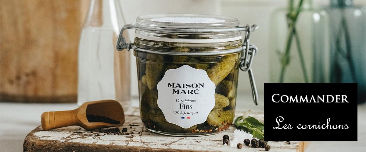 Cornichons Maison Marc - Cornichons 100% français